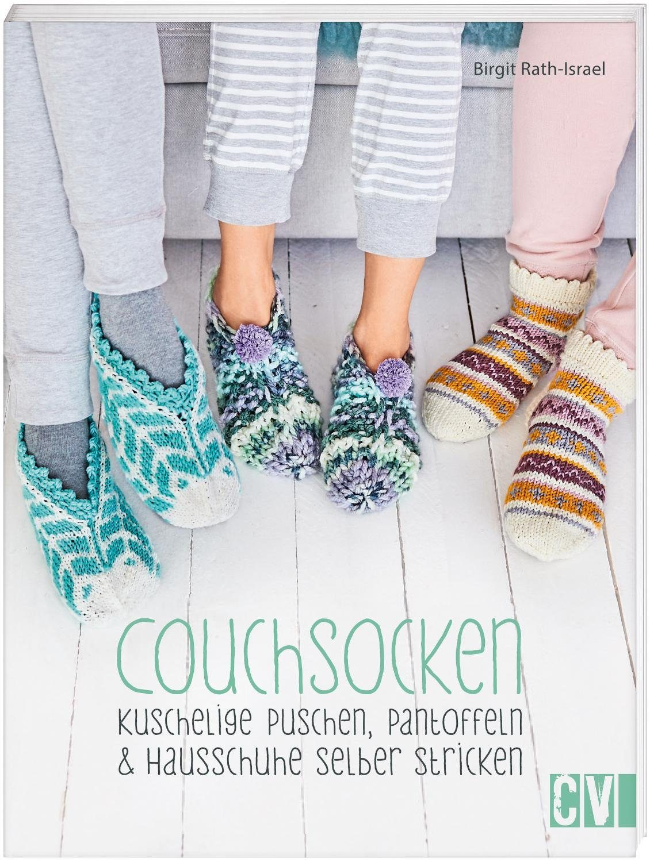 """Buch """"Couchsocken"""" 64 Seiten"""