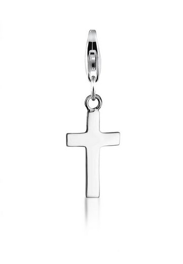 Nenalina Charm-Einhänger »Kreuz Symbol Anhänger Kommunion 925 Silber«