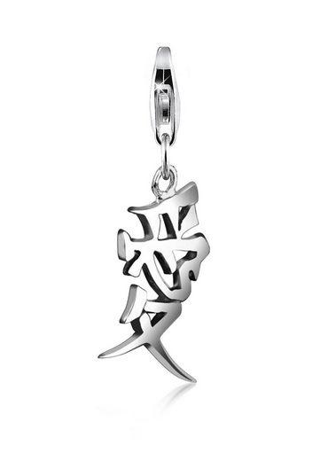 Nenalina Charm-Einhänger »Anhänger Liebe Zeichen Chinesisch Trend 925 Silber«
