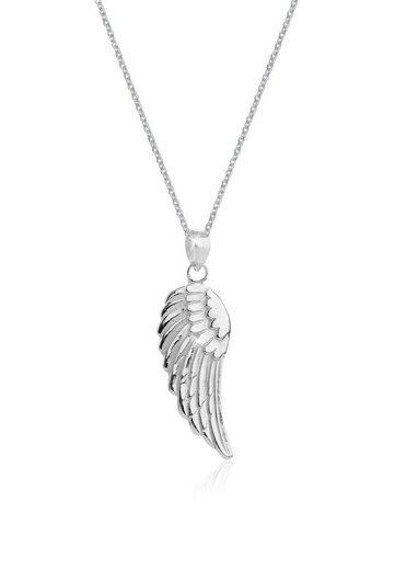 Nenalina Collierkettchen »Engels-Flügel Anhänger Symbol Glück 925 Silber«