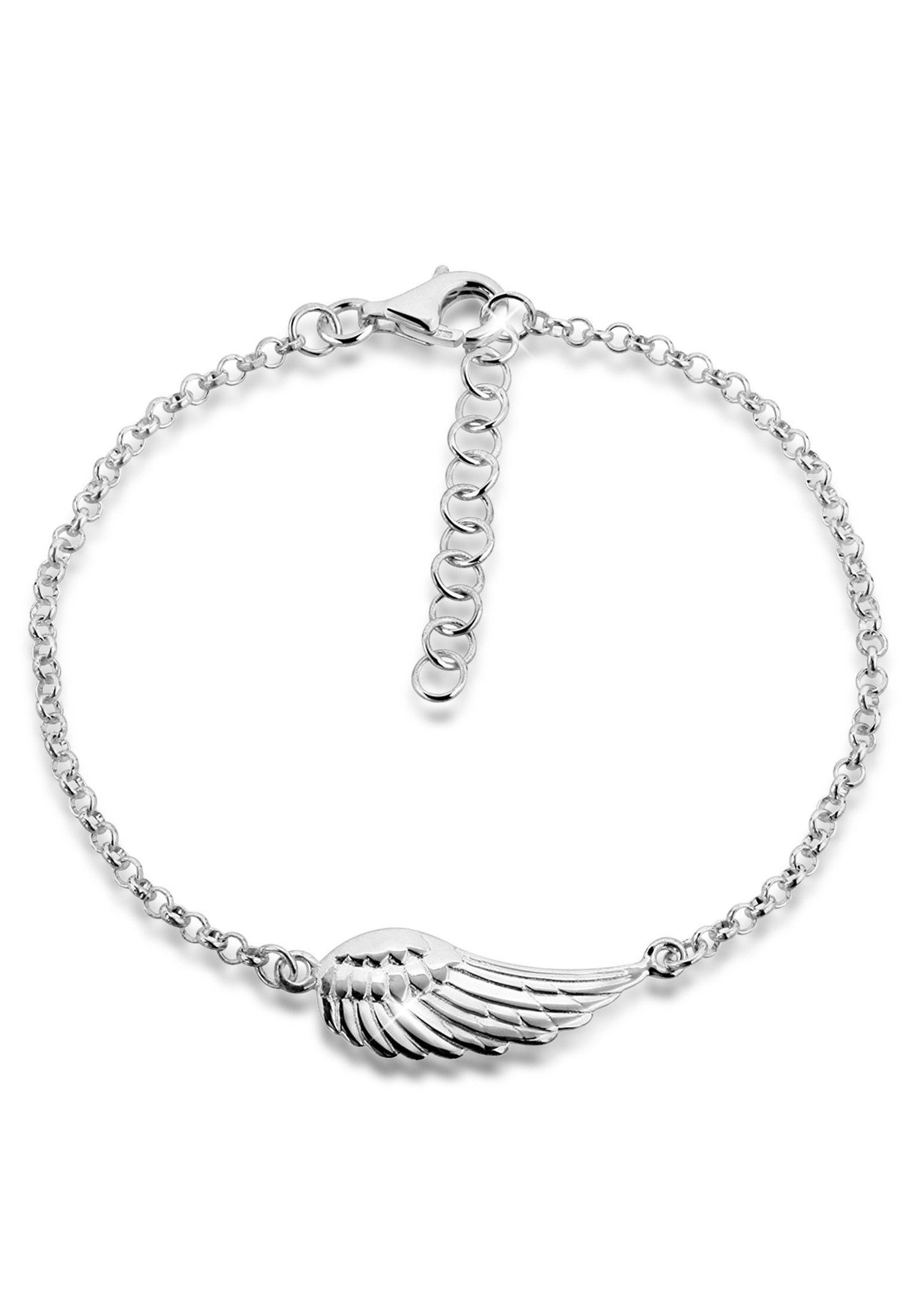 Nenalina Armband »Flügel Schutzengel 925 Sterling Silber«