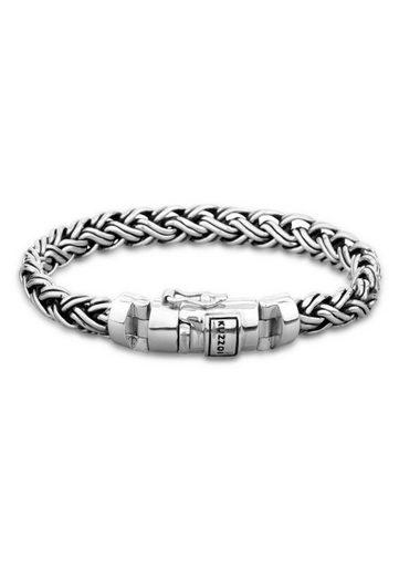 Kuzzoi Armband »Herren Panzer Glieder Kastenverschluss 925 Silber«