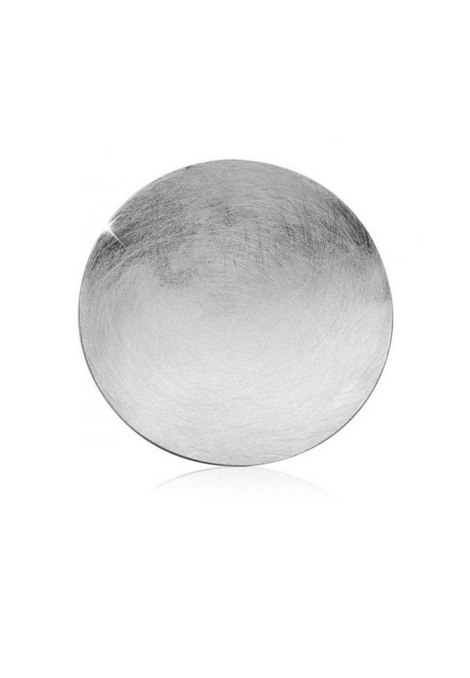 Nenalina Kettenanhänger »Kreis Gebürstete Oberfläche 925 Sterling Silber« | Schmuck > Halsketten > Ketten ohne Anhänger | Nenalina