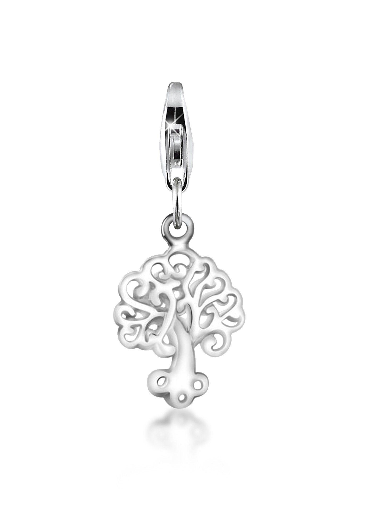 Nenalina Charm-Einhänger »Anhänger Baum des Lebens Tree of Life 925er Silber«