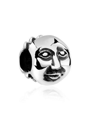 Nenalina Charm-Einhänger »Mann im Mond Bead Anhänger Halloween 925 Silber«