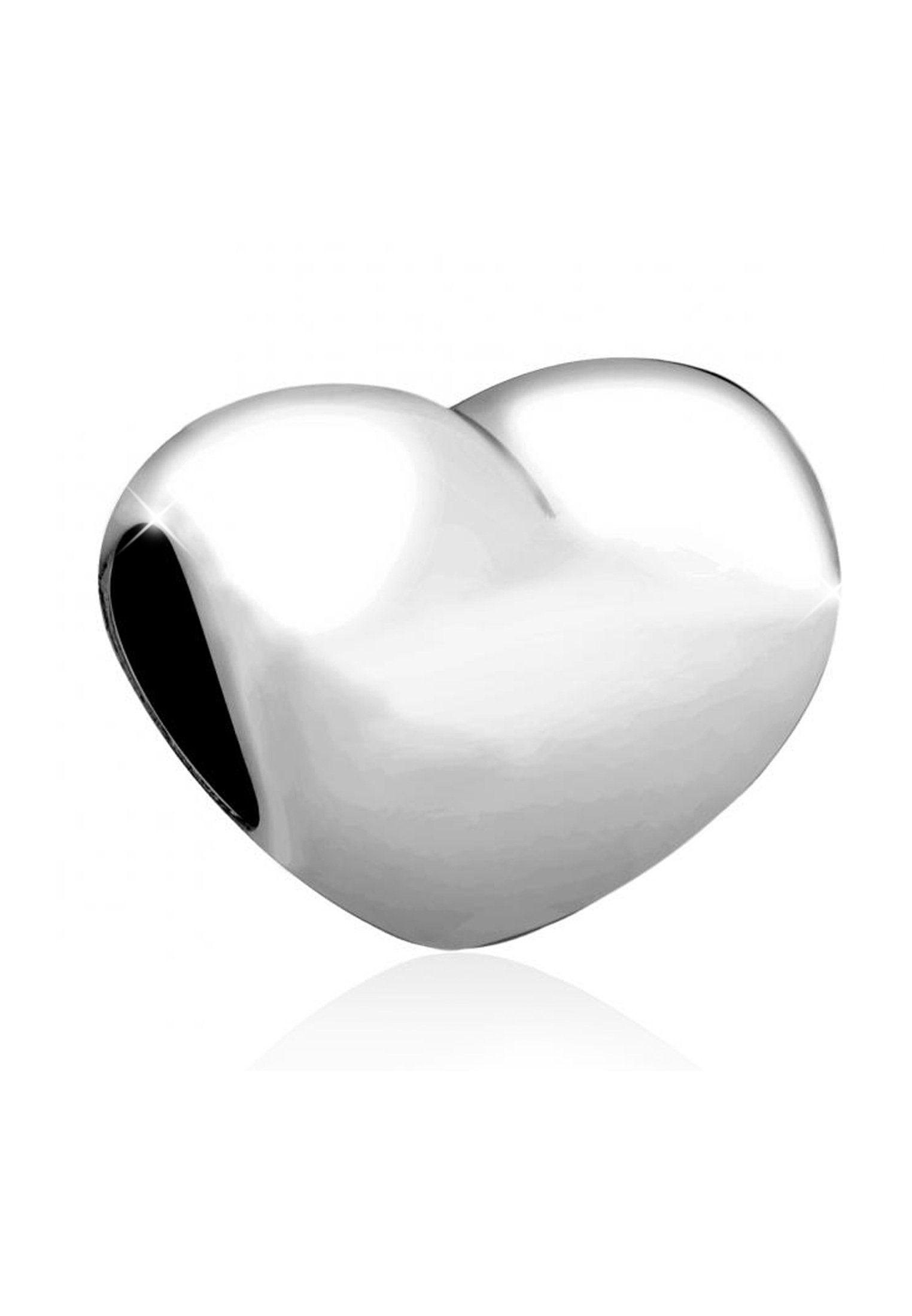 Kettenanhänger »herz Love Silber anhänger 925 Silber« Basic Nenalina Kaufen Bead Online jSMVGLqpUz