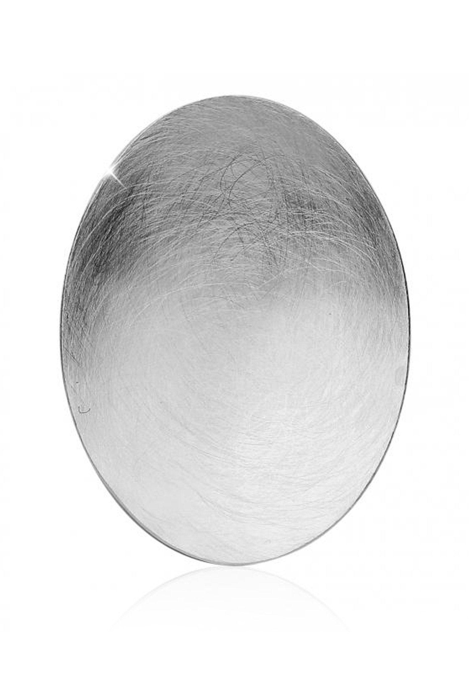 Nenalina Kettenanhänger »Schmuckanhänger Ornament Oval Brushed 925 Silber«
