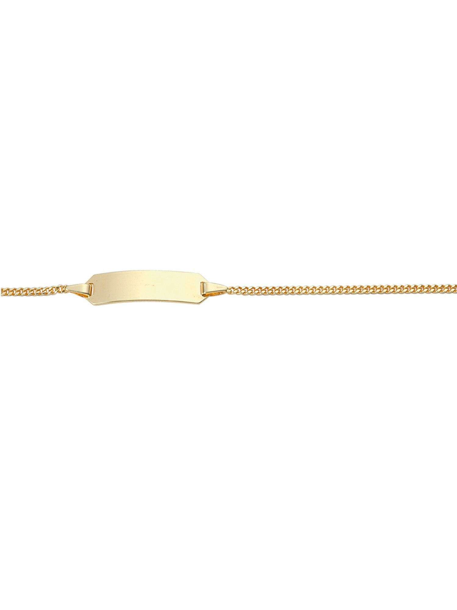 Adelia´s Goldarmband »Gold Armbänder« 14 k 585 Gelbgold Flach Panzerkette