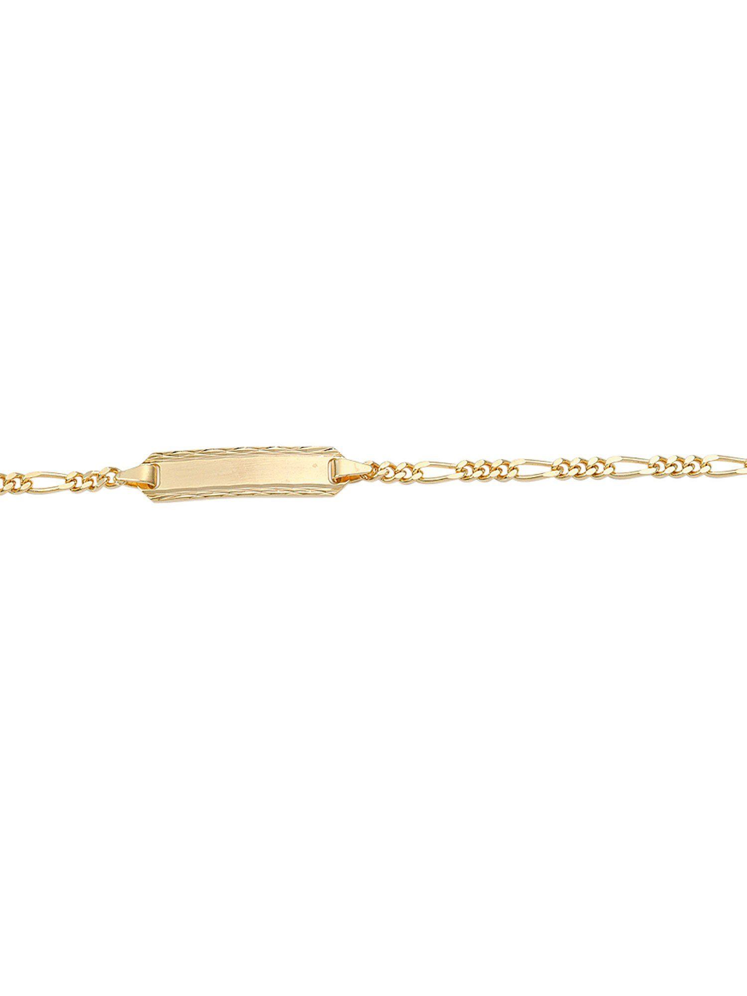 Adelia´s Goldarmband »Gold Armbänder« 8 k 333 Gelbgold Figarokette