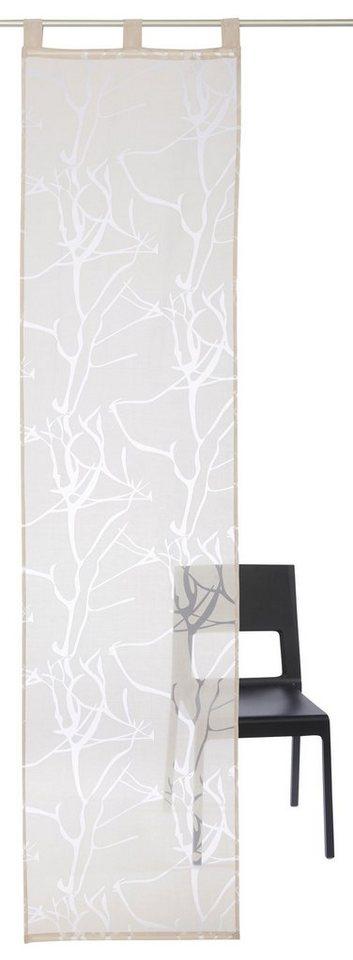 schiebegardine anna my home schlaufen 1 st ck inkl. Black Bedroom Furniture Sets. Home Design Ideas