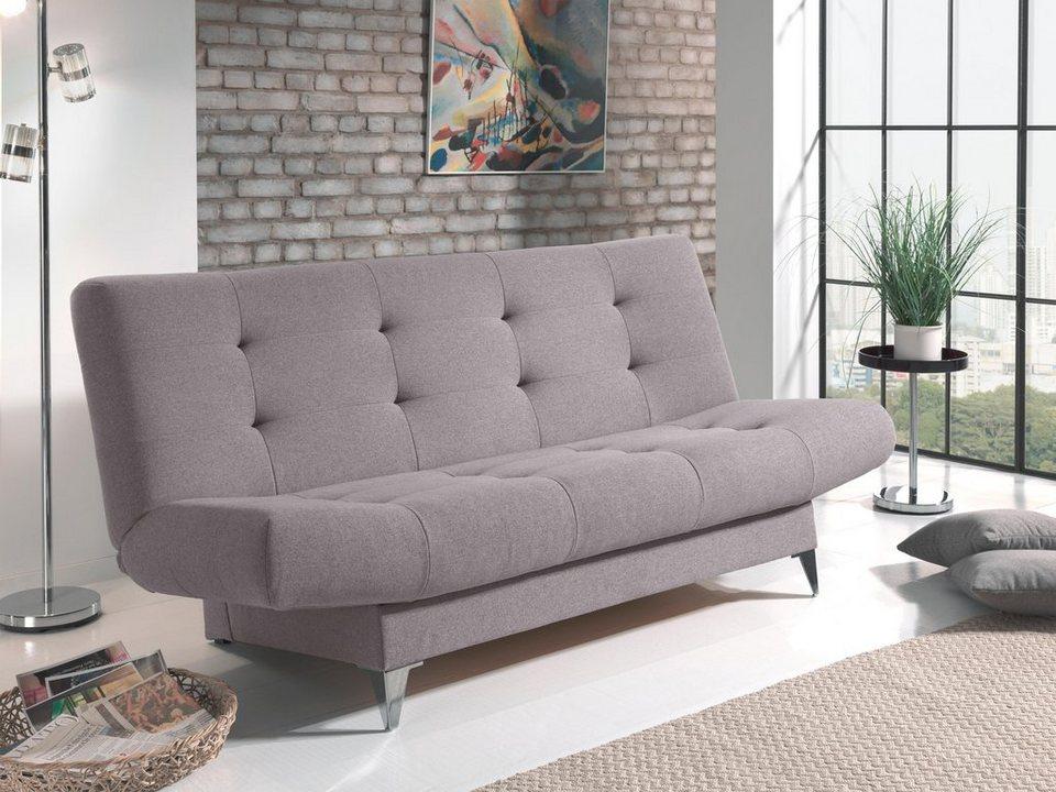 home affaire schlafsofa zero wall ausklappbar ohne von der wand abzur cken online kaufen otto. Black Bedroom Furniture Sets. Home Design Ideas