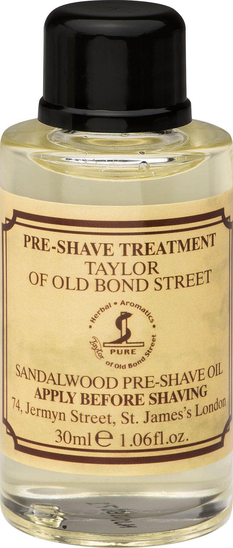 Taylor of Old Bond Street, »PRE SHAVE OIL «, Luxuriöser Duft aus Italien