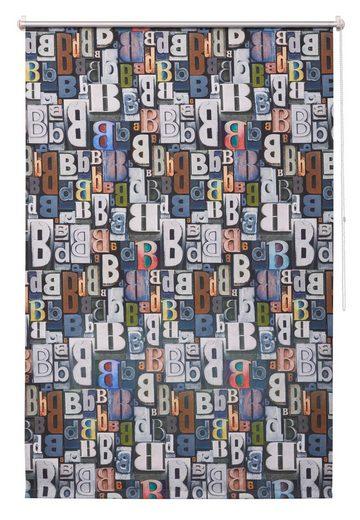 Seitenzugrollo »Bani«, Bruno Banani, verdunkelnd, ohne Bohren, freihängend, Hitzeschutz