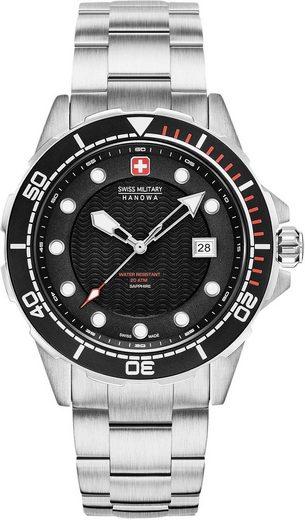 Swiss Military Hanowa Schweizer Uhr »NEPTUNE DIVER, 06-5315.04.007«