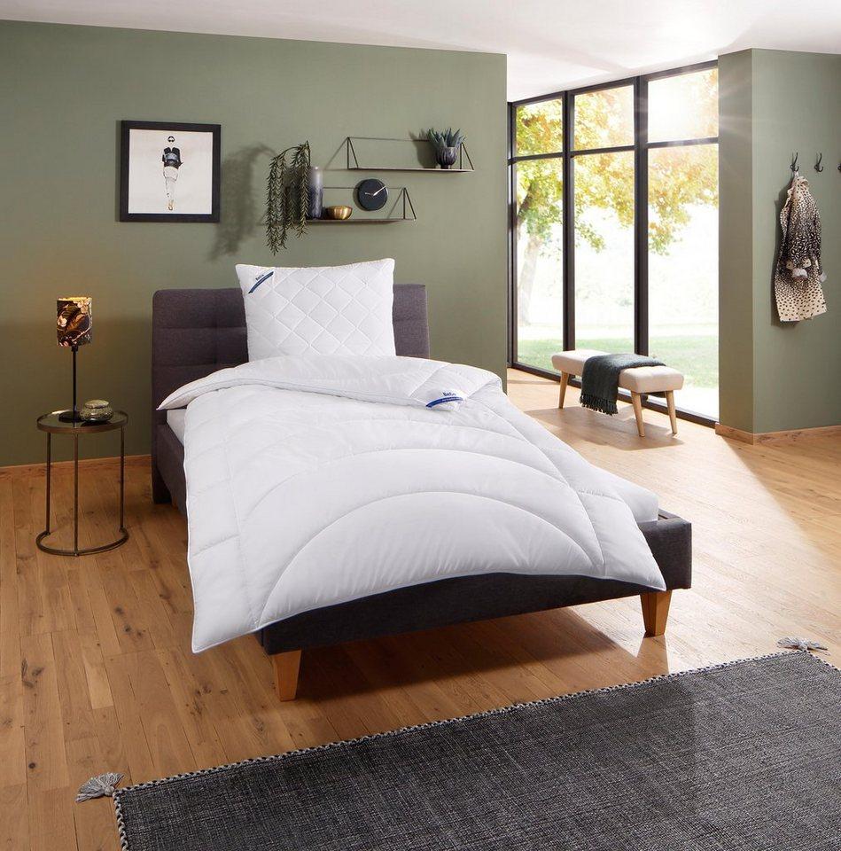 microfaserbettdecke microfaserkissen medibett beco. Black Bedroom Furniture Sets. Home Design Ideas