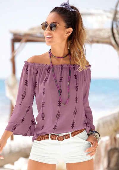 938655729065 Lila Bluse online kaufen | OTTO