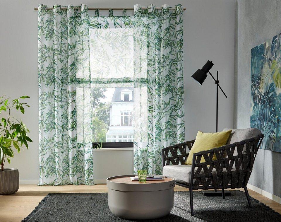 gardine bambus my home sen 1 st ck kaufen otto. Black Bedroom Furniture Sets. Home Design Ideas