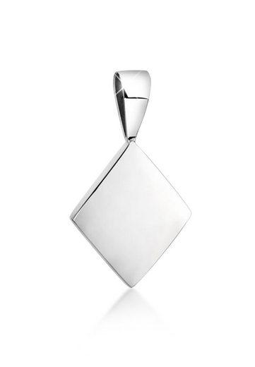 Nenalina Kettenanhänger »Karo Geo Viereck Trend Minimal 925 Silber«