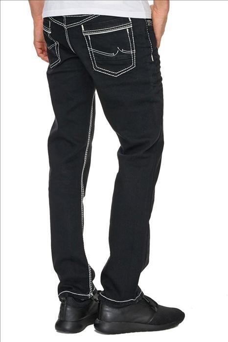 9434a739a7eeef Rusty Neal Jeans mit stylischen Strukturnähten | OTTO