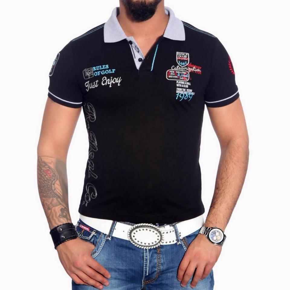 buy popular 4cfaa 30186 Rusty Neal Poloshirt mit stylischem Aufdruck »6688« online kaufen | OTTO