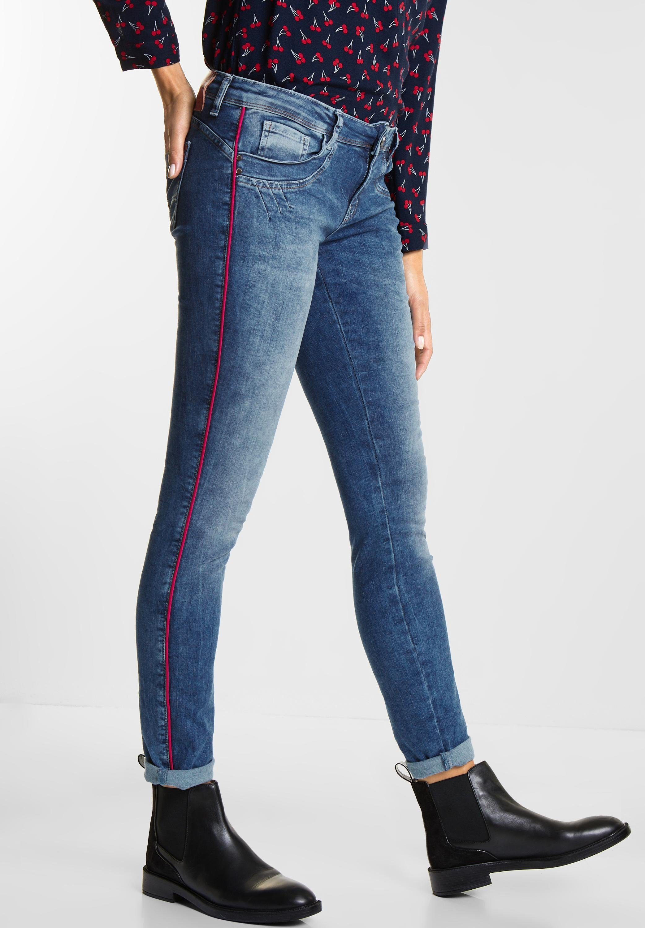 STREET ONE Loose-fit-Jeans