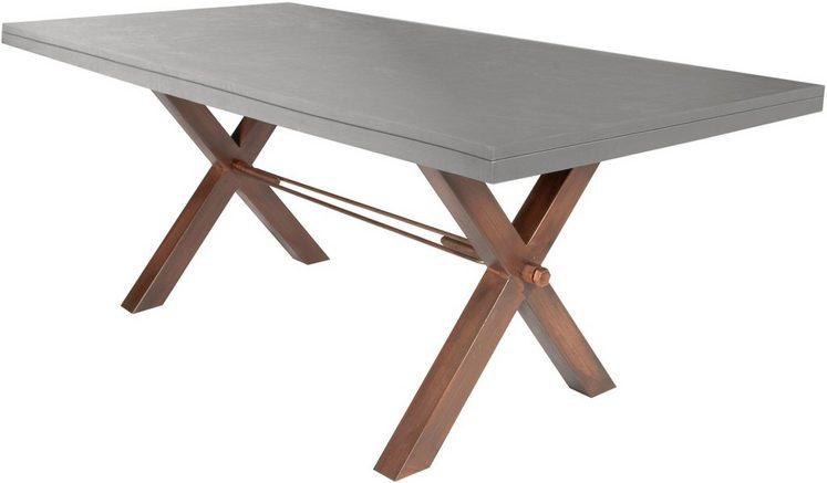 SIT Esstisch »Tops«, mit Tischplatte in Betonoptik