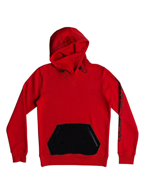 »big Online Kaufen Funktioneller up Hoodie Logo«Zip Handwärmer Quiksilver taschen wiPXuTkZlO