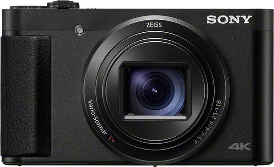 Sony »DSC-HX95« Kompaktkamera (ZEISS® Vario-Sonnar T* 24-720 mm, 18,2 MP, 28x opt. Zoom, NFC, WLAN (Wi-Fi), Bluetooth, Display, 4K Video, Augen-Autofokus)