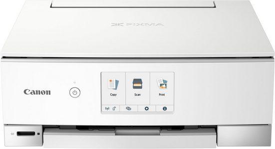 Canon PIXMA TS8250_51_52 Multifunktionsdrucker, (WLAN (Wi-Fi)