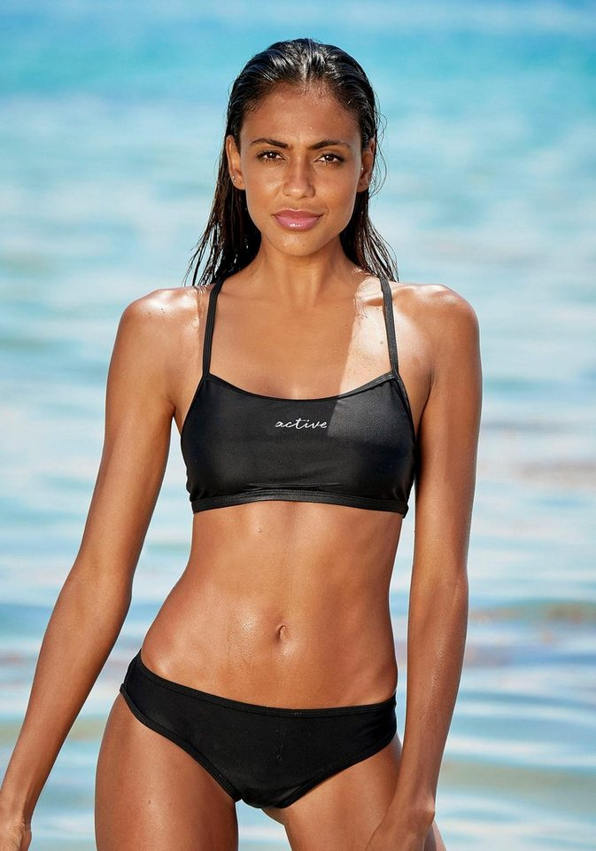 Bademode - LASCANA ACTIVE Bustier Bikini ›  - Onlineshop OTTO