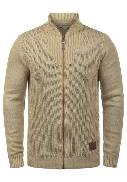 Solid Strickjacke »Tristian« Cardigan mit Reißverschluss | Bekleidung > Strickjacken & Cardigans | Solid