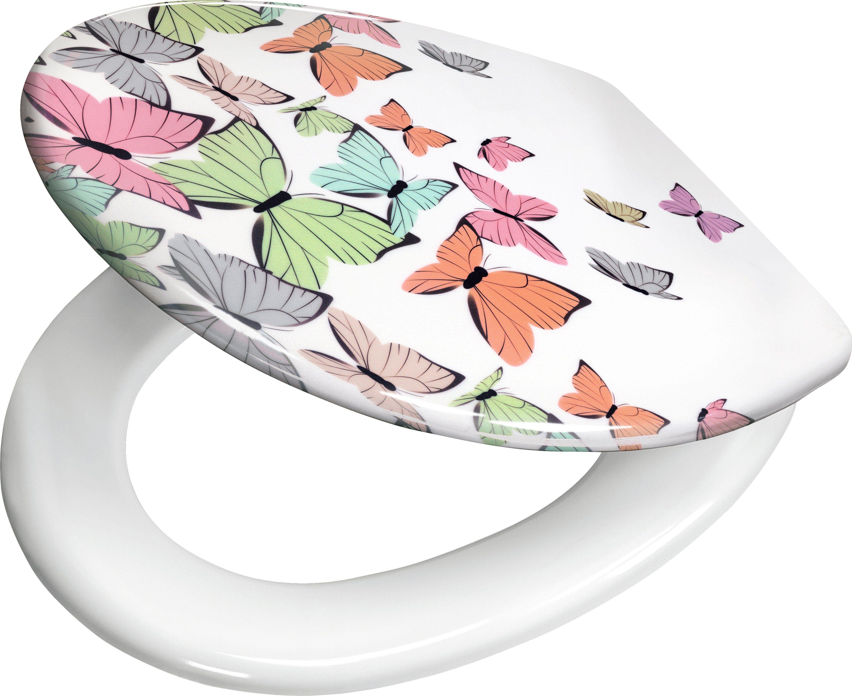 Kleine Wolke WC-Sitz »Butterflies«