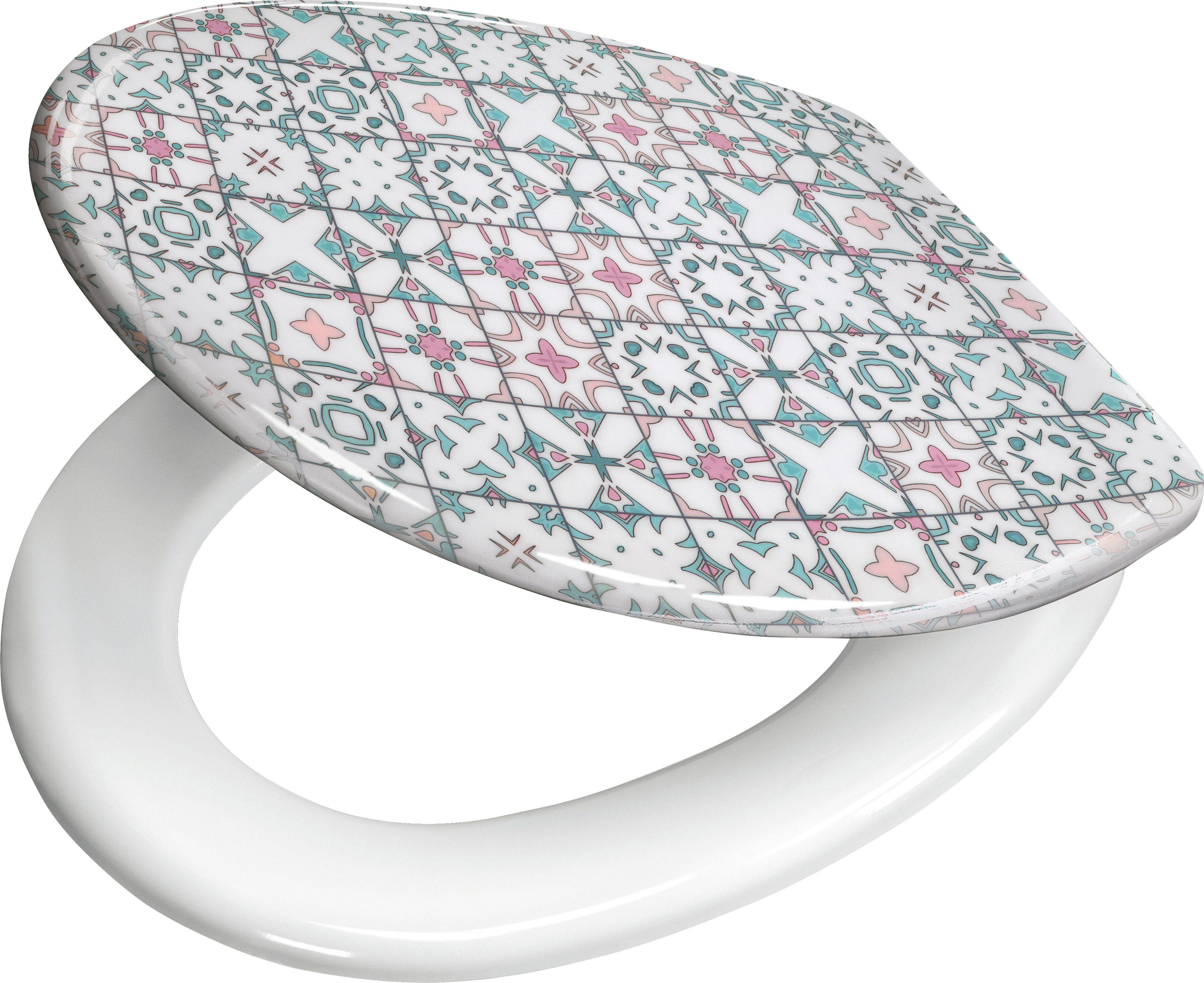 KLEINE WOLKE WC-Sitz »Multicolor«