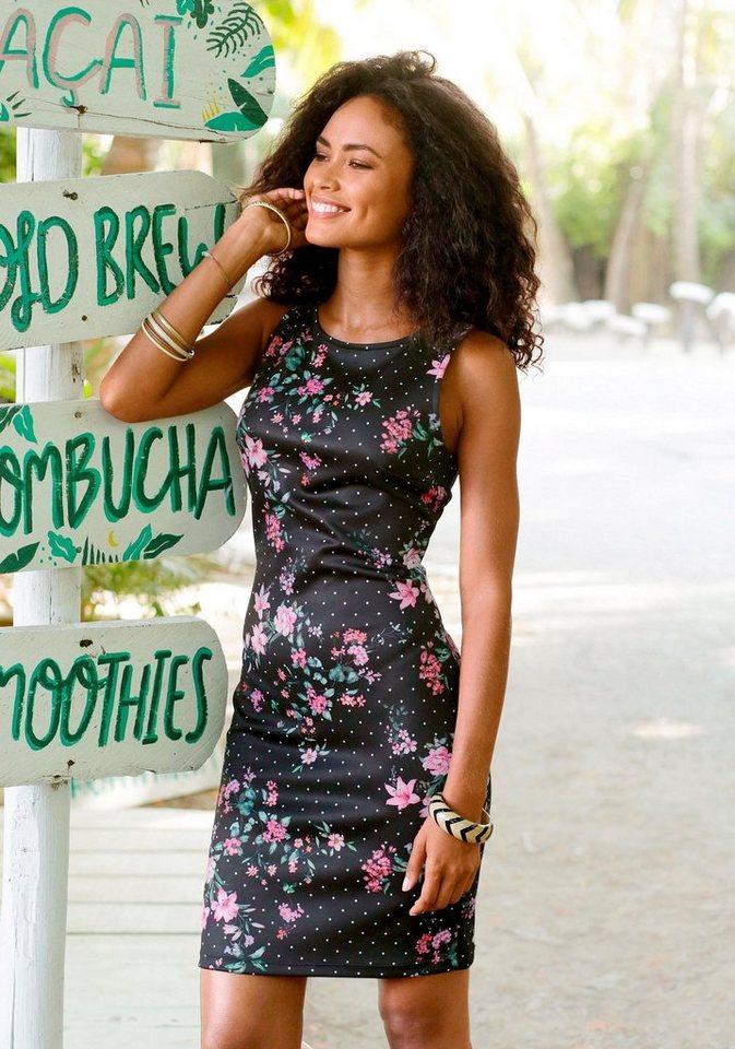 4a5590f93468b9 LASCANA Scuba-Kleid in schmaler Form online kaufen