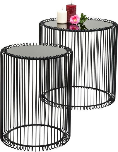 KARE Beistelltisch »Wire« (Set, 2-St)
