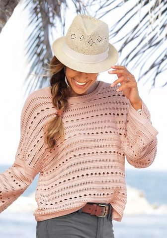 LASCANA Ažūrinis megztinis
