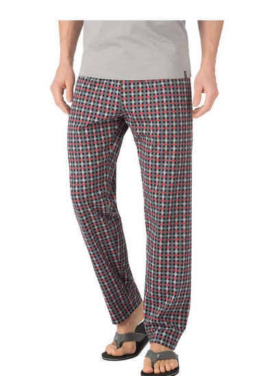 TRIGEMA Lange Schlafanzughose mit Karomuster a380e2e3a57