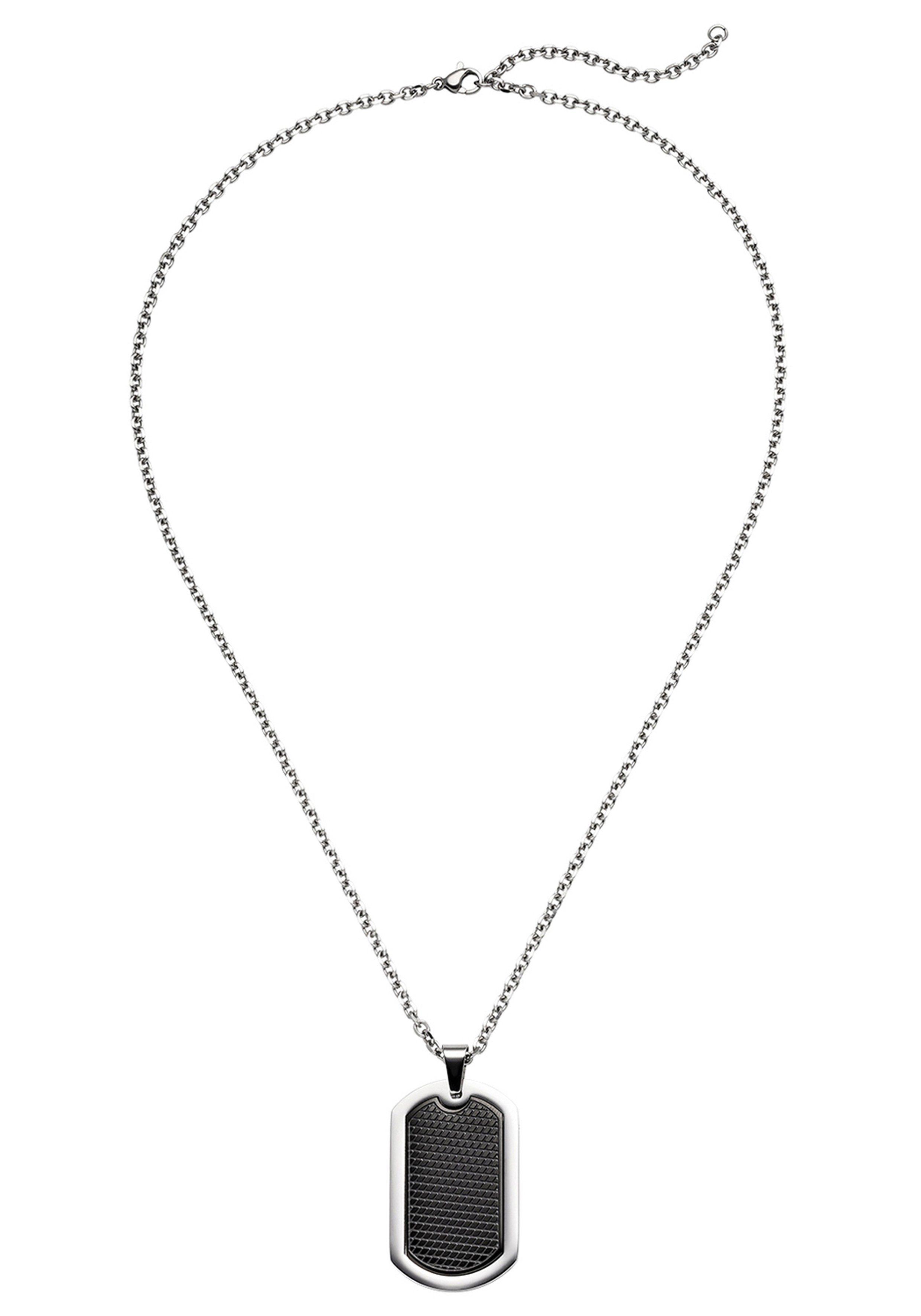 JOBO Kette mit Anhänger Edelstahl 55 cm