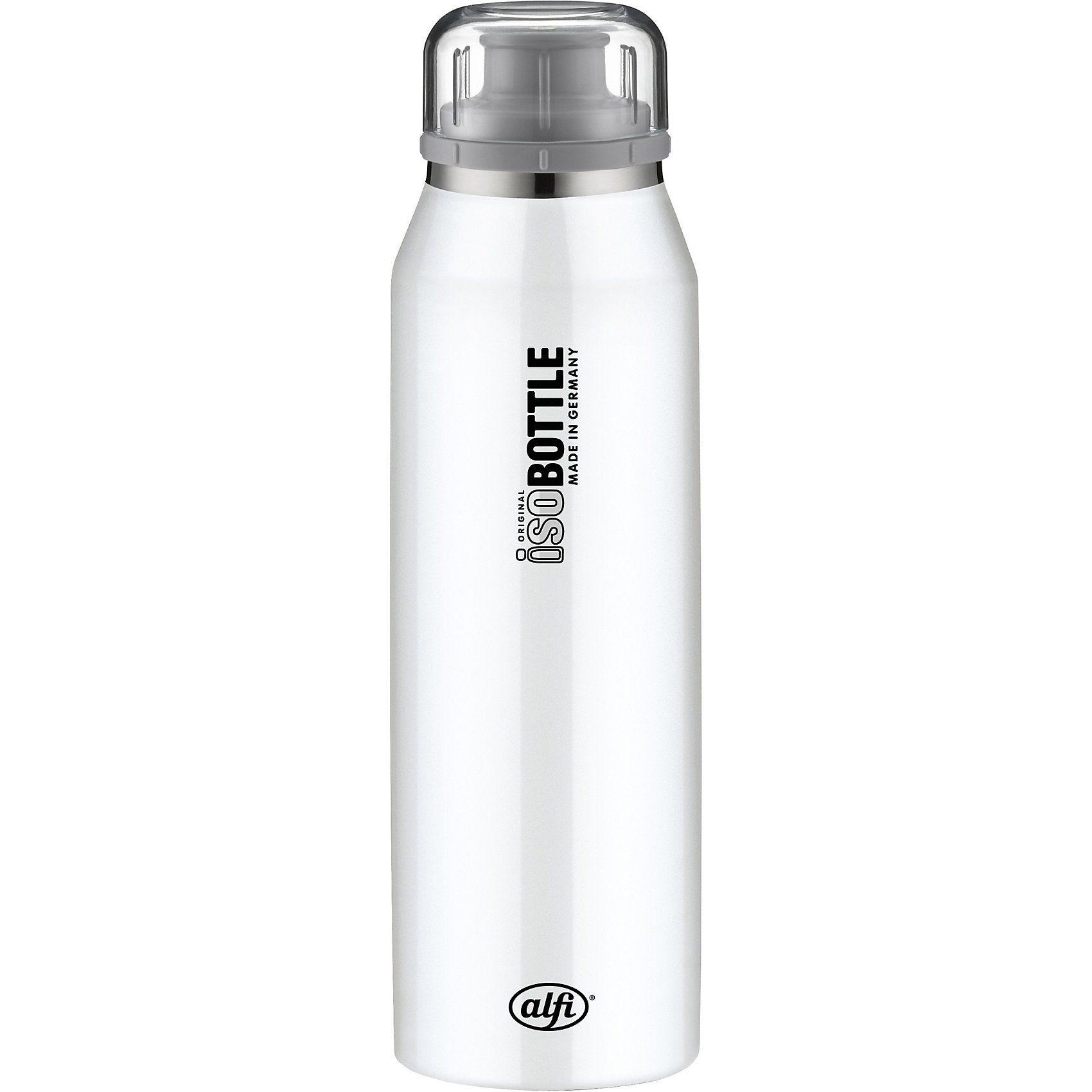 Alfi Isolier-Trinkflasche isoBottle Pure Weiß, 500 ml