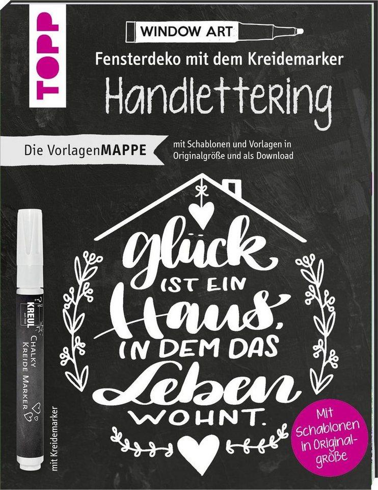 """Topp Buch """"Fensterdeko mit dem Kreidemarker inkl. Schablonen"""" online kaufen"""