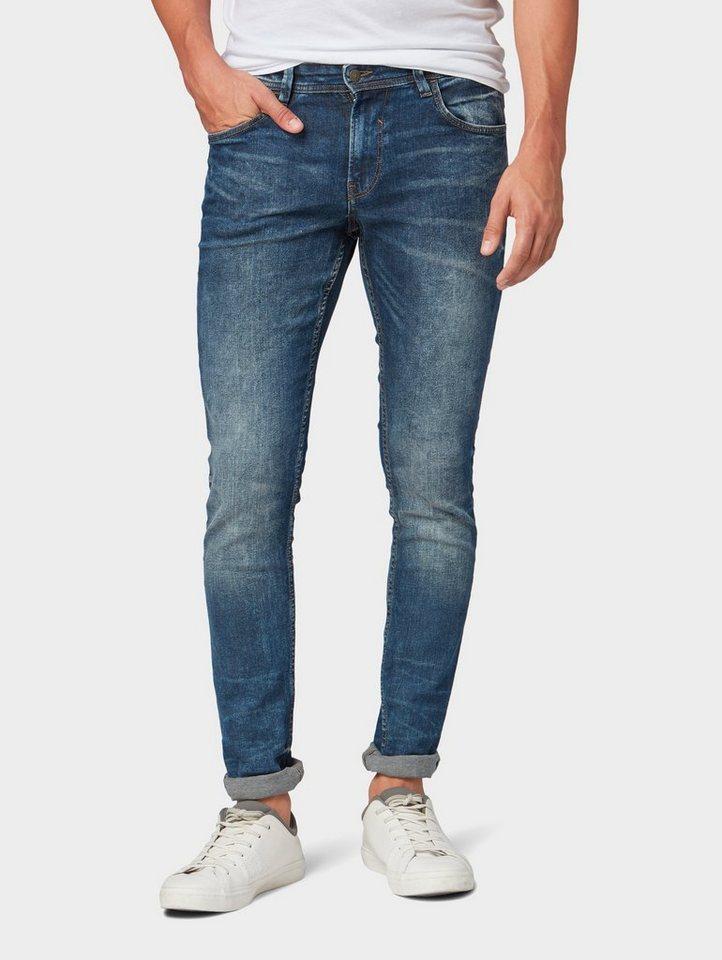 tom tailor denim skinny fit jeans culver skinny jeans. Black Bedroom Furniture Sets. Home Design Ideas