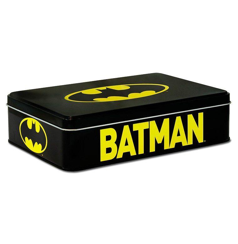 LOGOSHIRT Metallbox mit Batman-Logo