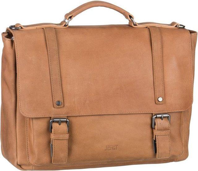 Jost Notebooktasche / Tablet »Salo 4653 Businesstasche« | Taschen > Business Taschen | Braun | Polyester - Fleece | Jost
