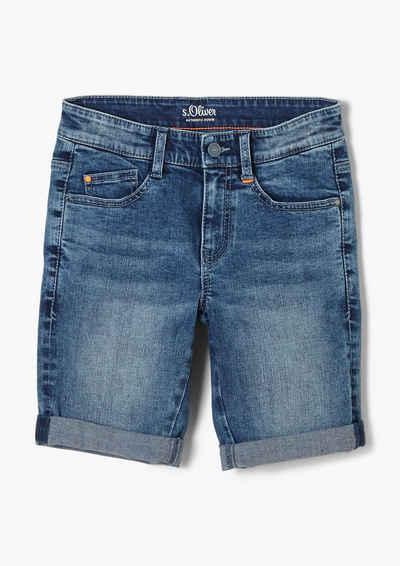 s.Oliver Jeansshorts »Slim Fit: Bermuda aus Jeans« Waschung