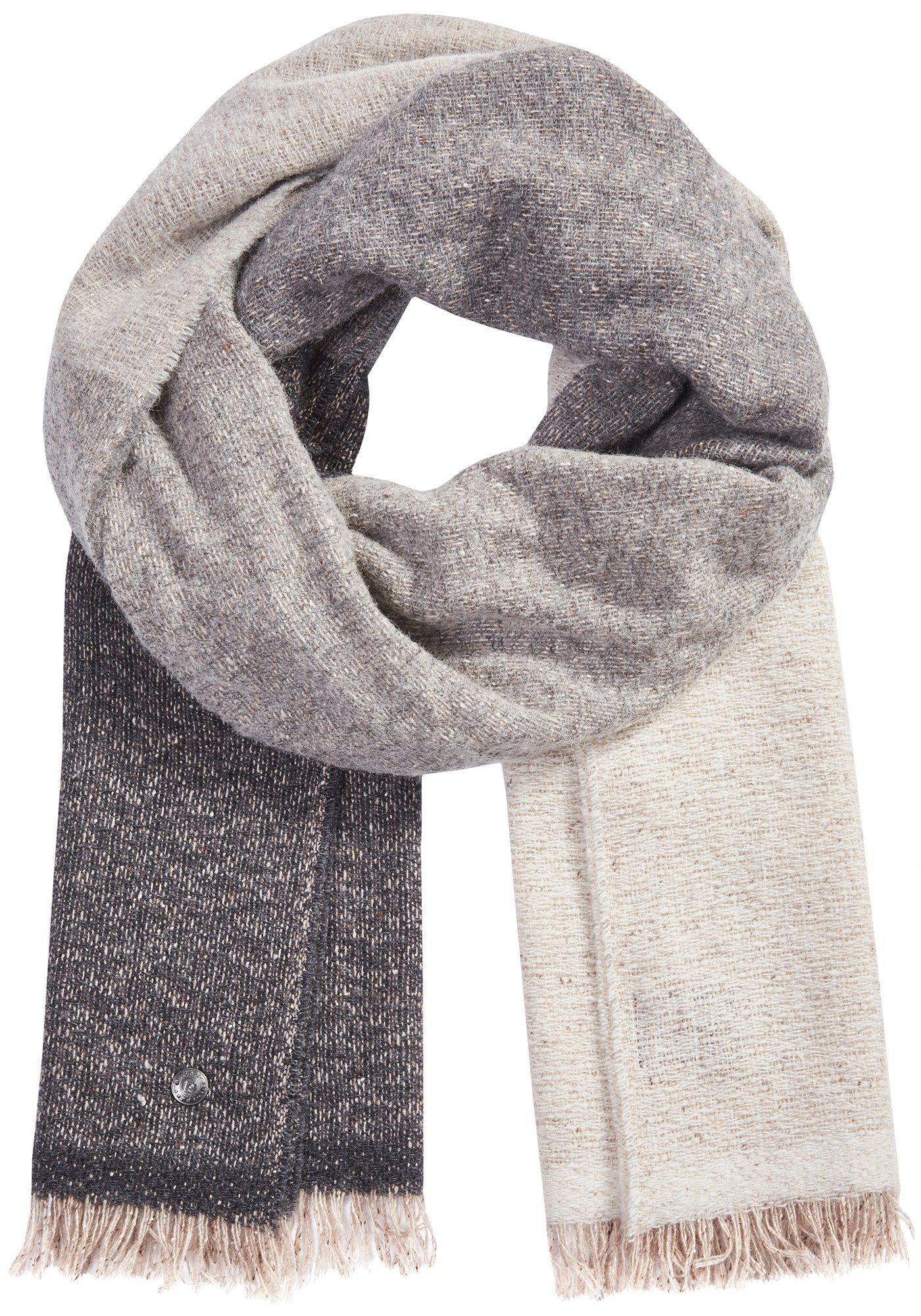 PIERRE CARDIN Schal mit Farbverlauf aus Alpaka/Woll-Mix