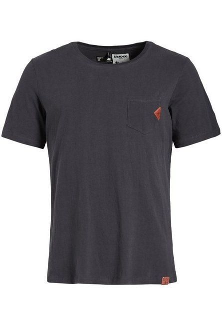 khujo -  T-Shirt »SONDO« aus Baumwolle
