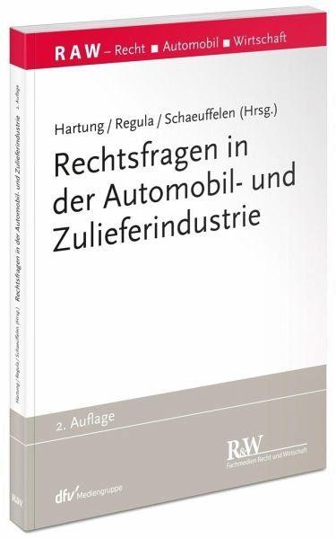 Broschiertes Buch »Rechtsfragen in der Automobil- und...«