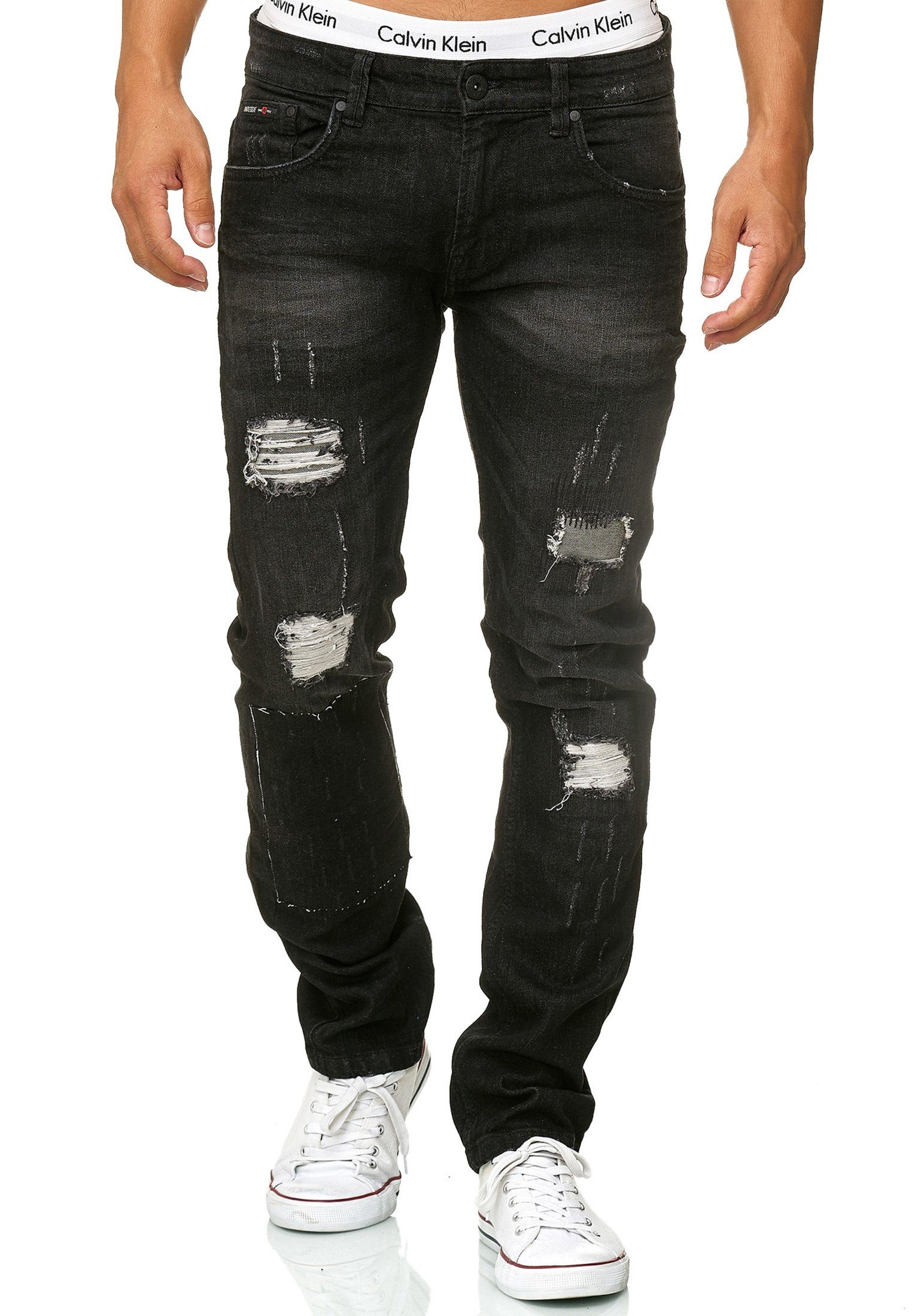 Indicode Regular fit Jeans »Ohio«, Modische 5 Pocket Jeans von INDICODE online kaufen | OTTO