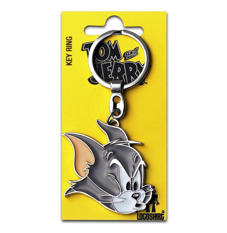 LOGOSHIRT Schlüsselanhänger mit Kater Tom-Motiv