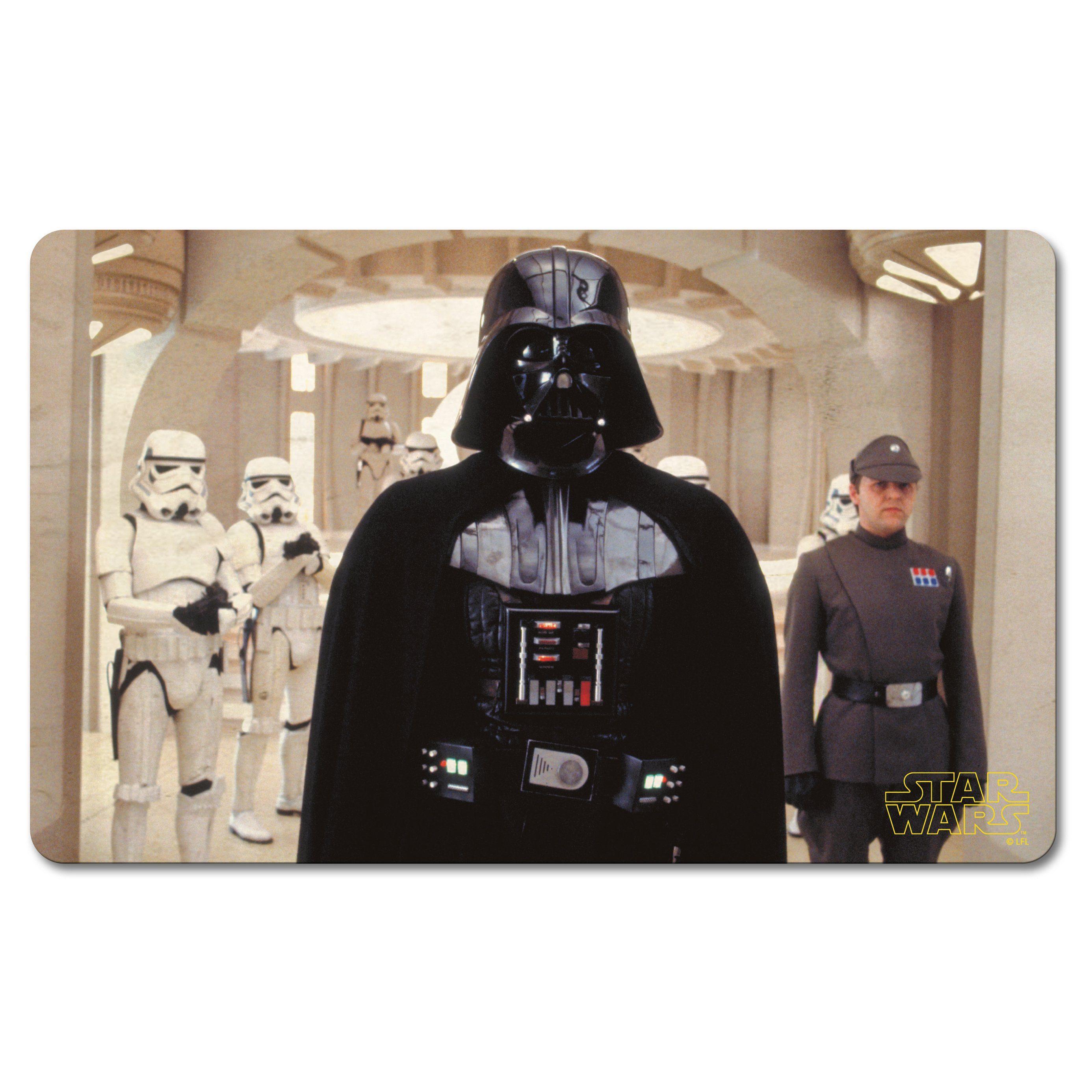 LOGOSHIRT Frühstücksbrettchen mit Darth Vader-Druck